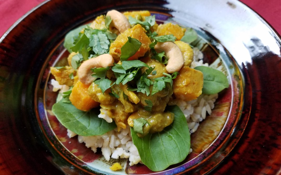ROASTED SQUASH CURRY BOWL