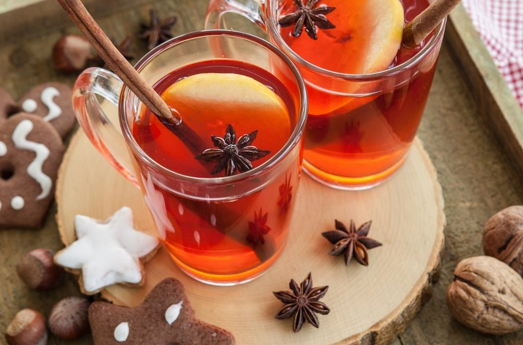 Hot Apple-Cherry Cider