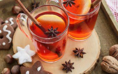 Hot Apple-Cherry Cider