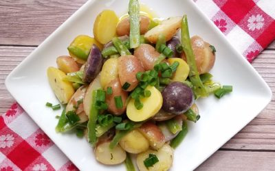 French-Style Potato Salad with Green Beans