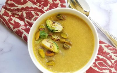 Creamy Brussels Sprouts Soup