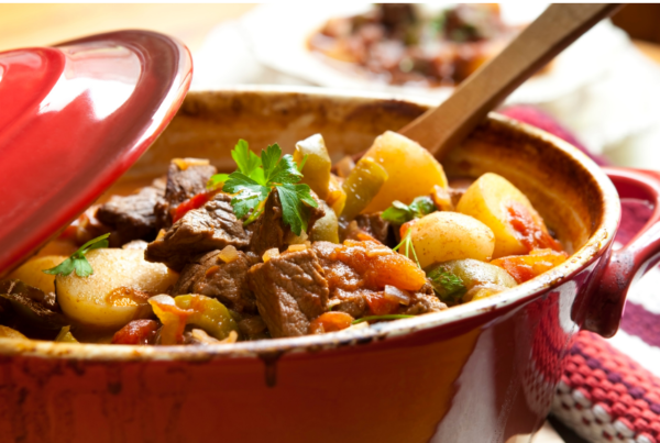 Savory Beef or Lamb and Veggie Stew