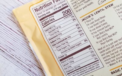 Selecting Better Ingredients – Reading Nutrition Fact Labels
