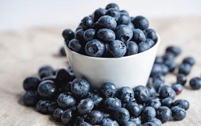 Plump, Sweet, Superfood Blueberries